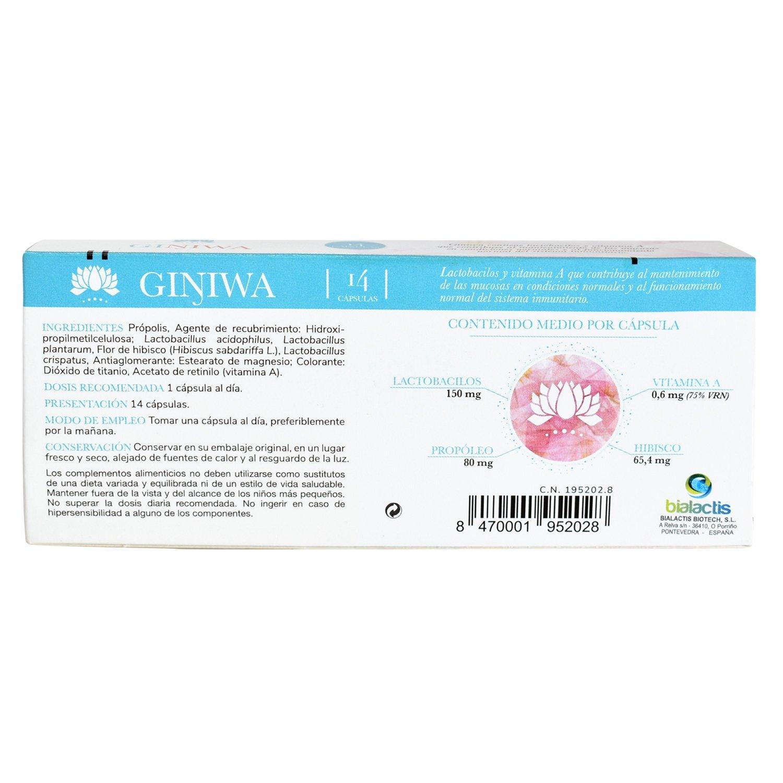 Comprar protector flora vaginal en cápsulas | GINIWA
