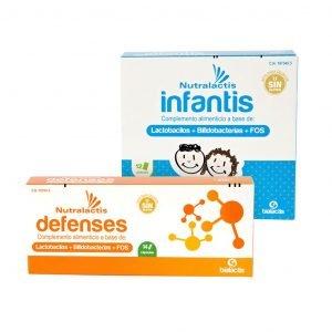 Pack de Probióticos Nutralactis