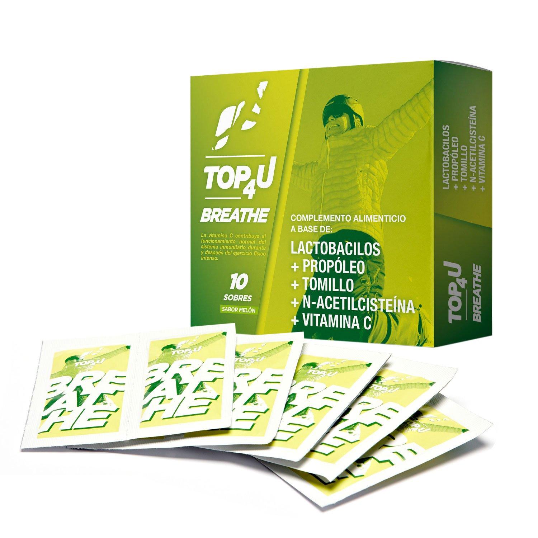 Suplemento natural con vitamina C en sobres | TOP4U Breathe