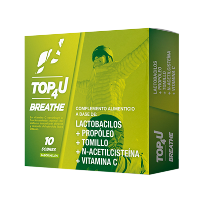 Probióticos con vitamina C | TOP4U Breathe
