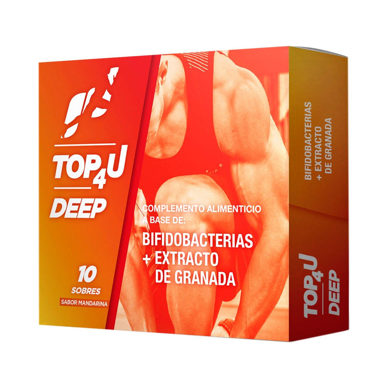 Complemento alimenticio sabor mandarina | TOP4U DEEP