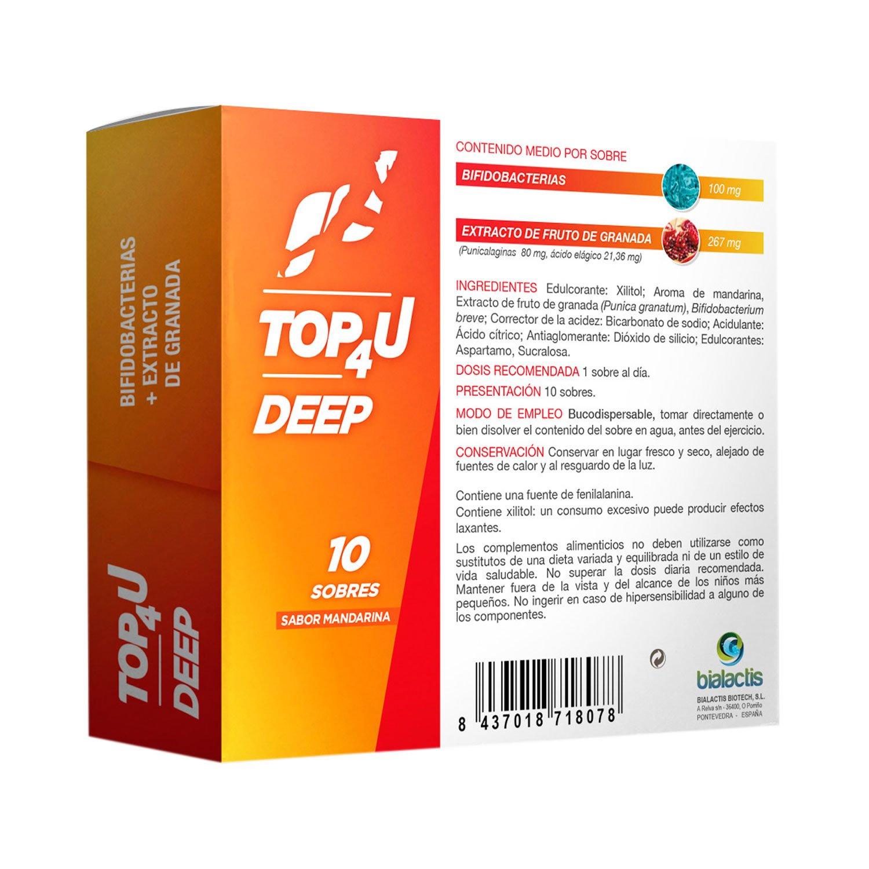 Caja de TOP4U DEEP | Bifidobacterias en sobre