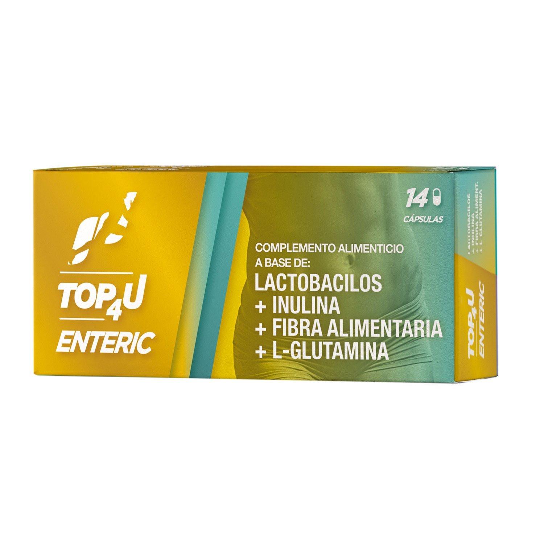 Comprar capsulas con fibra y lactobacilos   TOP4U ENTERIC