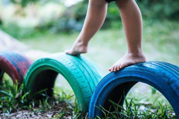Seguridad en niños al aire libre
